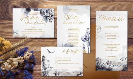 "Hochzeitspapeterie ""Bohemian Melody"""